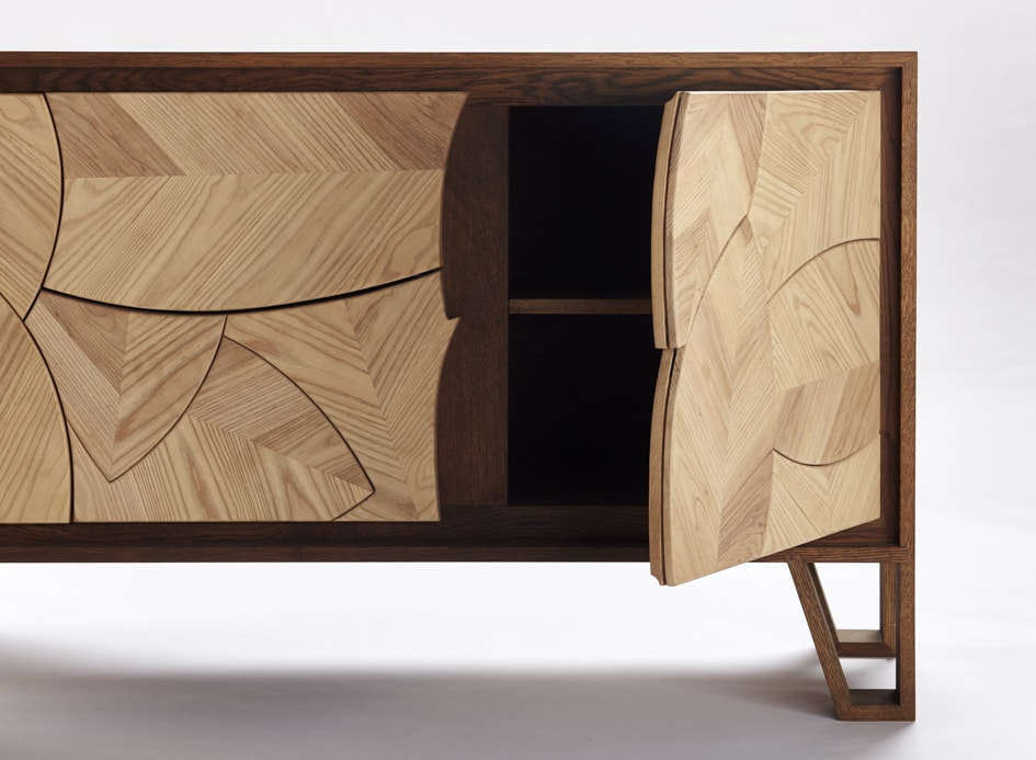 Meyer Von Wielligh Leaf Sideboard
